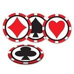 Drink Coasters-Casino-3.5''-8pk
