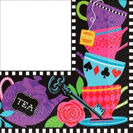 Napkins Bev-Mad Tea Party-16pk-2ply- Discontinued/Final Sale