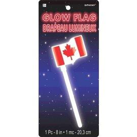 Glow Flag-Canada