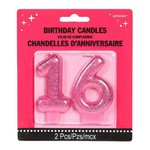 Candle-16th Birthday