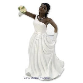 Interchangeable African American Bride