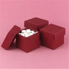 Favor Boxes- Merlot- 25pk