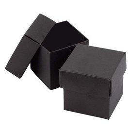 Favor Boxes- Black- 25pk