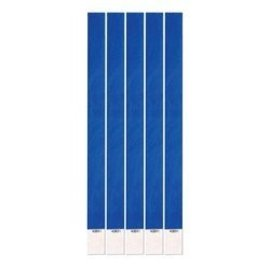 Wristbands- Blue - 100Pk