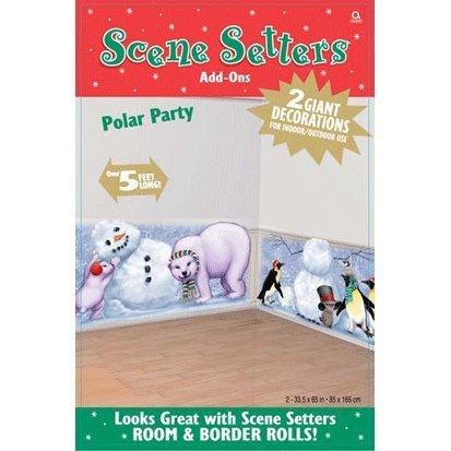 Scene Setters Christmas Polar Party