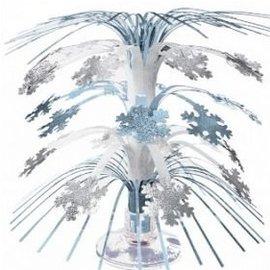 "Cascade Centerpiece- Mini Snowflake- 8.5"""
