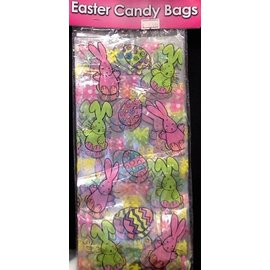 "Candy Bags- Easter- 15pk/4.25""x12"""