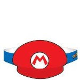 Paper Hats-Super Mario-8pk