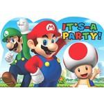Invites-Super Mario-8pk