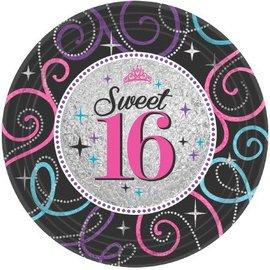 Plates LN-Sweet 16-8pk