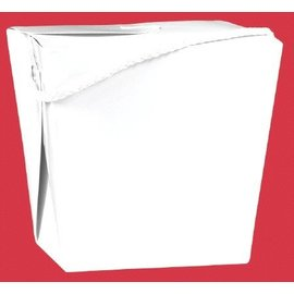 Chinese Takeout Container-White-1pk-1Qrt