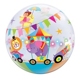 "Bubble Balloon - Circus 1pk (22"")"