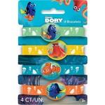 Finding Dory Stretch Bracelets - 4pk