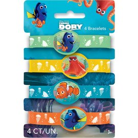 Finding Dory Stretch Bracelets - 4pk