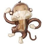 Foil Balloon-Supershape-Twisty Monkey