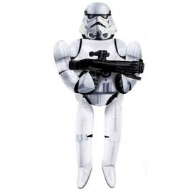"Foil Balloon - Airwalker - Star Wars Stormtrooper - 33""x70"""