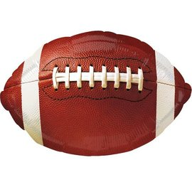 "Foil Balloon - Football 12x17"""