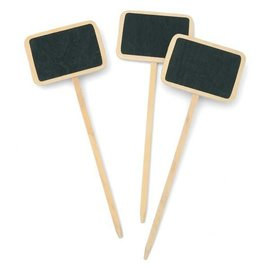 Chalkboard Picks-4''-4pk