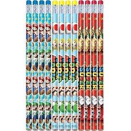 Pencils Super Mario