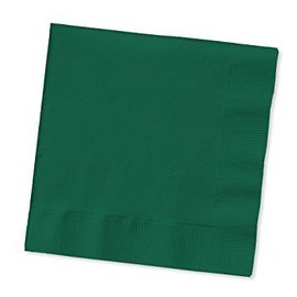 Napkins-BEV-Hunter Green - 2 ply - 50pk- Discontinued