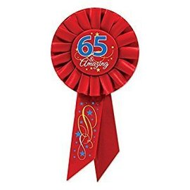 Award ribbon - 65th