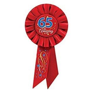 Award ribbon - 65th