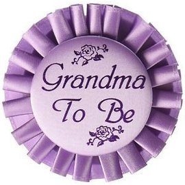 Award Button - Grandma To Be
