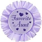 Award Button - Favourite Aunt