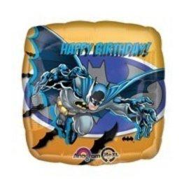 "Foil Balloon - Batman - Happy Birthday -18"""