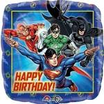 Foil Balloon-Justice League Birthday