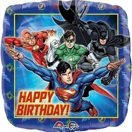 Foil Balloon-Justice League Birthday