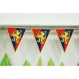 Medieval Pennant Banner - 12 ft.