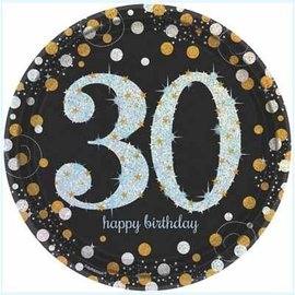Plates LN Sparkling Celebration 30