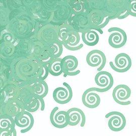 Confetti - Swirls Mint