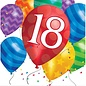 Luncheon Napkins-18th Balloon Birthday-Discontinued