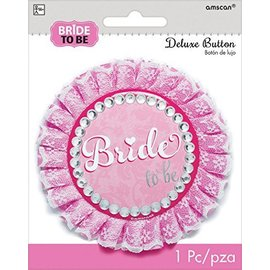 Button-Deluxe-Bride to Be-4.25''