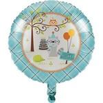 Foil Balloon - Happi woodland - Boy-18''