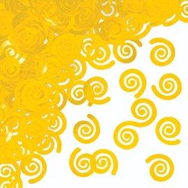 Confetti - Swirls School Bus Yellow-0.5oz