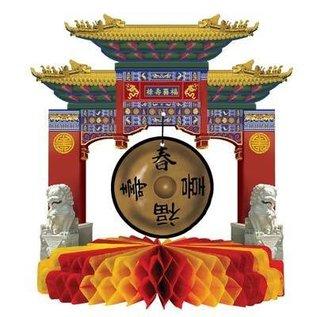 "Centerpiece-Honeycomb-Chinese New Year Gong-1pkg-9"" (Seasonal)"