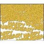 Confetti-Gold Happy Anniversary-14g
