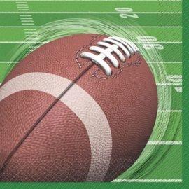 Napkins-Bev-Football Spiral-16pk-2ply- Discontinued