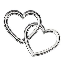 Cake Decoration-Double Heart-12pk(4'' x 3.5'')