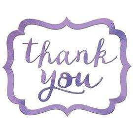 Stickers-Thank You-Lavender-50pcs-1.5'' x 1''