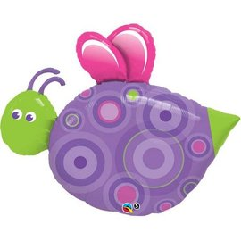 Foil Balloon-Supershape-Cute Flying Bug