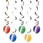 Swirl Decor-Balloon Blast-30''/39''-5pk