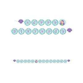 Banner-Mermaid Friends Shaped Ribbon-8ftx6in