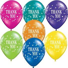 "Latex Balloon-Thank You Confetti-1pkg-11"""