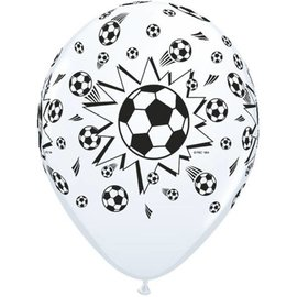 Latex Balloon-Soccer Balls-1pkg-11""