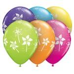 "Latex Balloon-Pinwheels Assortment-1pkg-11"""