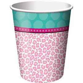 Cups-Spa Party-Paper-9oz-8pk- Final Sale